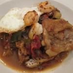 """Napoleon's chef foraged around the Italian countryside to create this dish.  Napoleon loved it so much, he considered it his """"lucky"""" meal, and required it after all battles from then on.  Or so the story goes."""
