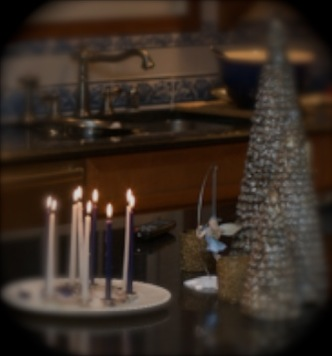 In a rare occurrence, the Hanukkah Fairy was captured on digital film.  If you blink, she'll disappear.  She only lasts for eight days before returning to her oil lamp.