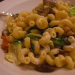 Cavatappi with Escarole, Mushrooms and Prosciutto