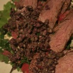 A quick rub on this flank steak adds zesty flavor and tenderizes the meat, all at the same time.