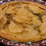 Rustic Potato Tart