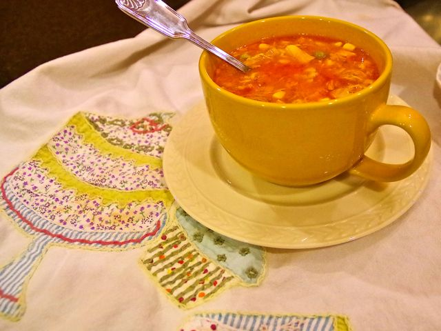 """A Brunswick Stew is hearty enough, but in a """"just right, Goldilocks"""" kind of way: made with chicken and veggies, it satisfies without being too filling. It's a great winter warmer!"""