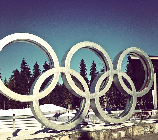 Olympic luge.