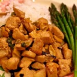 Cashew Chicken with Bamboo Shoots