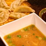 Combine frozen potstickers, paired with homemade dipping sauce, with this better-than-take-out Chinese Hot and Sour soup.