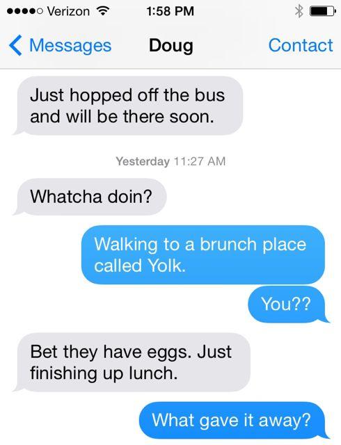 Egg jokes. Impact of stress on creativity.