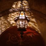 Shadow lights at Hollywood Tower of Terror