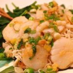 Scallops with Scallions and Ginger