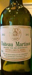 Chateau Martinon Entre-Deux-Mers