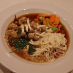 Asian Veal Meatball Noodle Soup