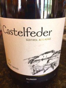 Castelfeder Pinot Grigio