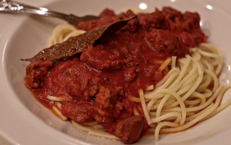 Spaghetti Sauce with Italian Sausage - Feeding the Famished
