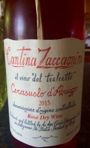 Cantina Zaccagnini Rose