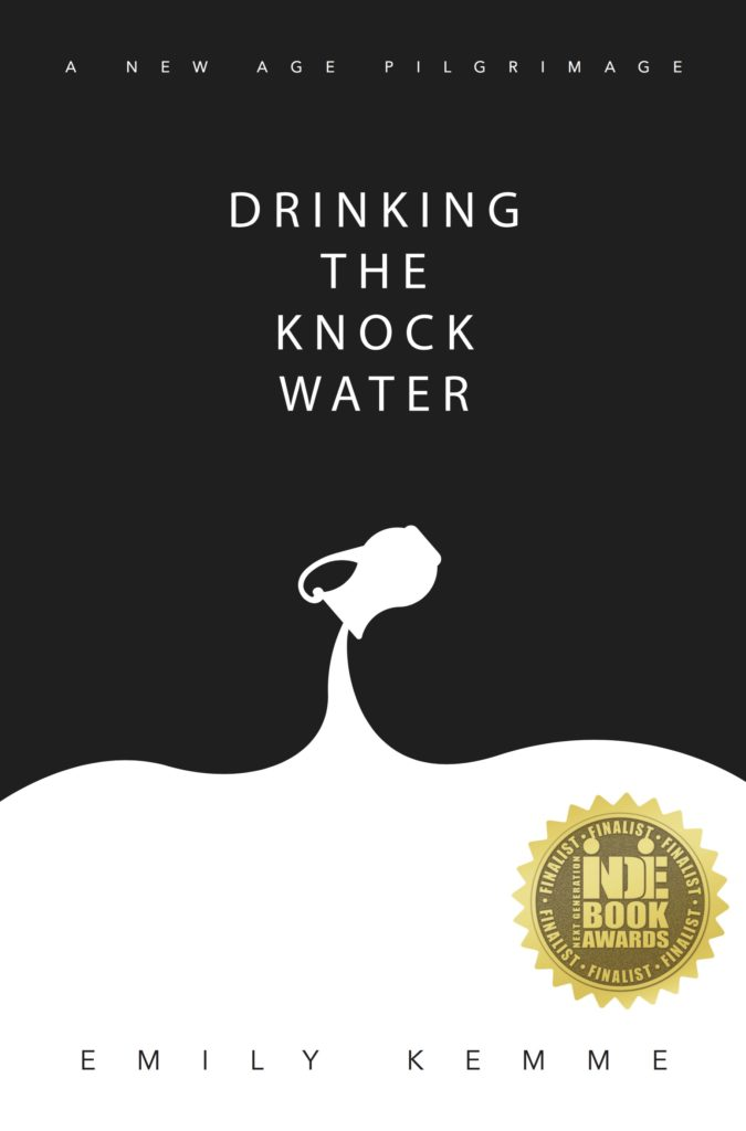 Greeley CO Author Emily Kemme Drinking The Knock Water