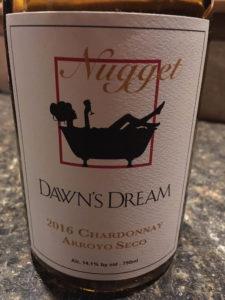 Dawn's Dream Nugget Chardonnay