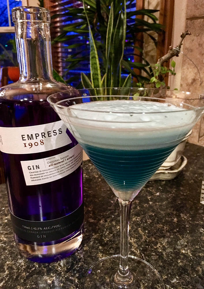 Blue Oasis with Empress 1908 Gin
