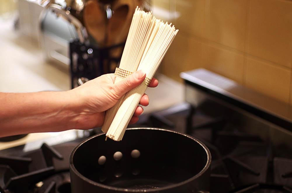 Crispy Tofu in Shiitake Miso Broth