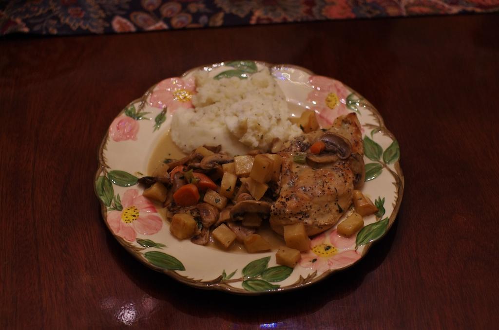 Rustic Chicken Tarragon