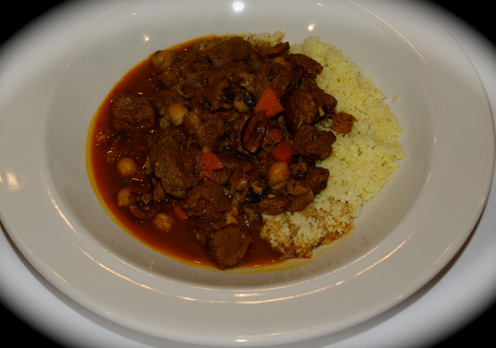 Moroccan Beef Stew with CouscousFeeding the Famished