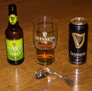 Ingredients for Black and Tan