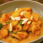 Quick and satisfying, this shrimp butternut squash stew's warm color is an added benefit.