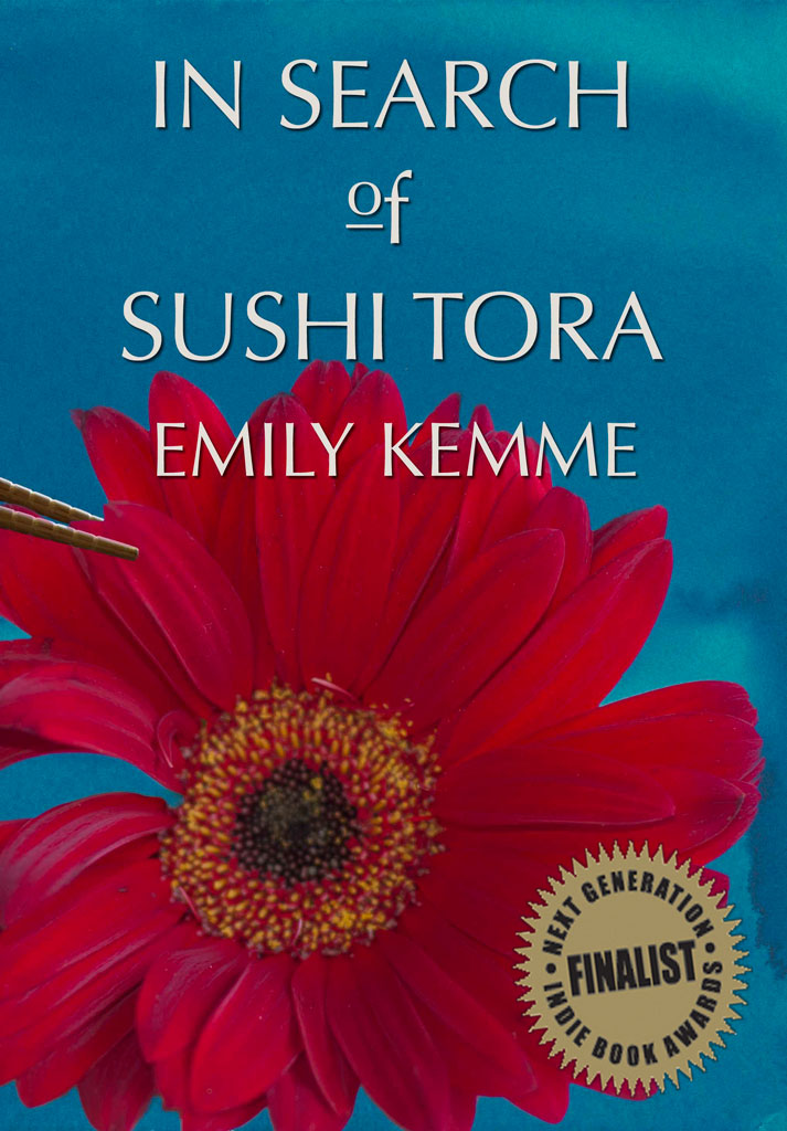 Greeley CO Author Emily Kemme - Book cover for In Search of Sushi Tora
