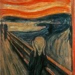 """The Scream."" Edvard Munch."
