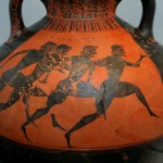 Runners at the Panathenaic Games in 530 BC probably didn't have to pack much, if anything. (Wikipedia Commons)