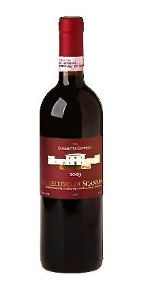 Morellino di Scansanos, a Sangiovese-based red wine