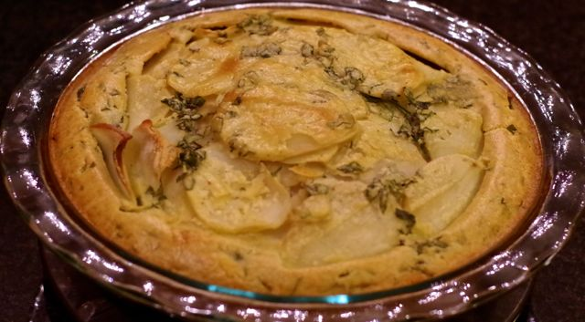 Rustic Potato Tart