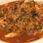 Chicken Sausage Gumbo. Mmmm, talk about good!