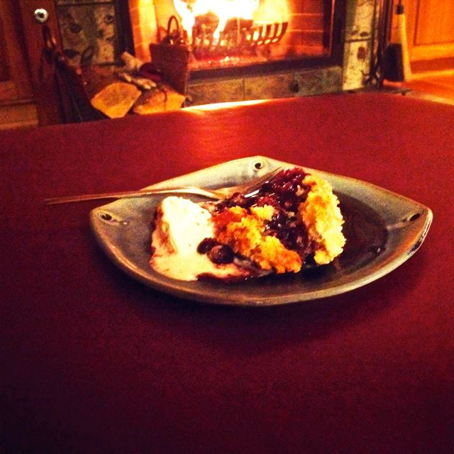 Warm berries by firelight. Friends and family. A touch of vanilla gelato. Isn't this the definition of happiness?