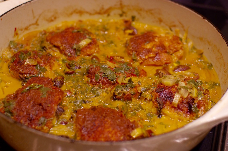 Chicken Tagine with Preserved Lemon