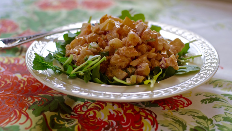 Shrimp and Asian Pear Salad