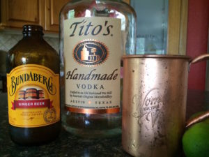 Moscow Mule with Bundaberg Ginger Beer