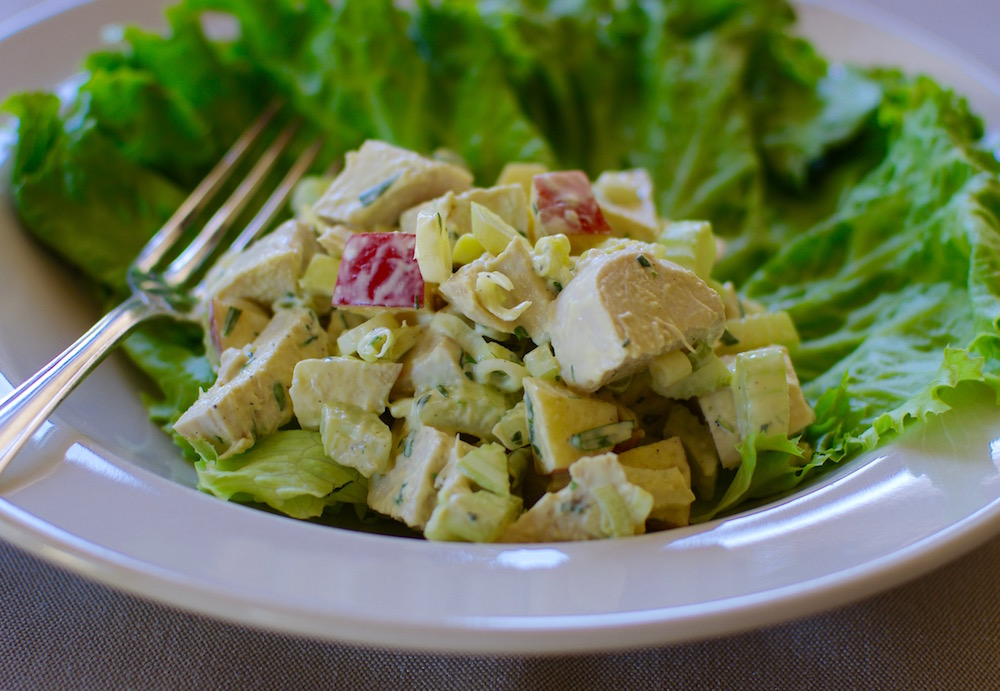 Classic Tarragon Chicken Salad - Feeding the Famished