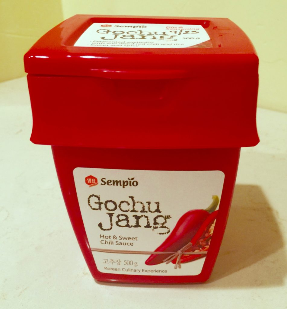 Gochujang Korean chili garlic paste