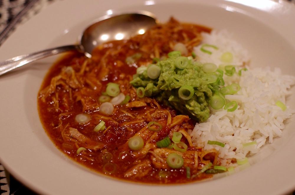 Crock Pot Pork With Enchilada Sauce