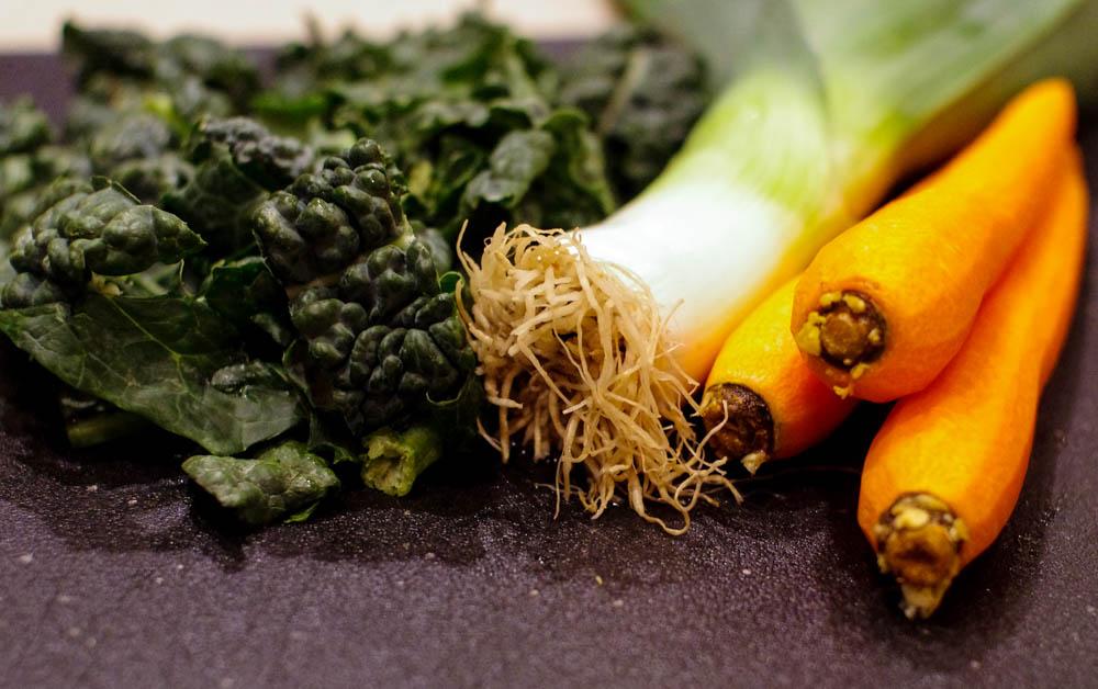 Scottish Rumbledethumps with Leeks and Kale