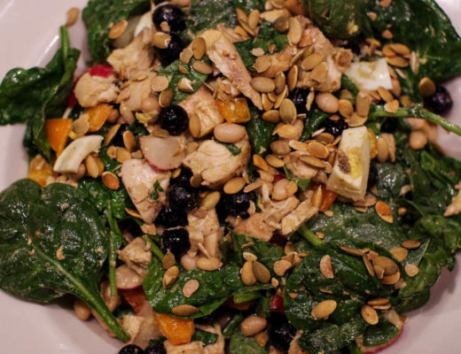Rotisserie Chicken Blueberry Salad