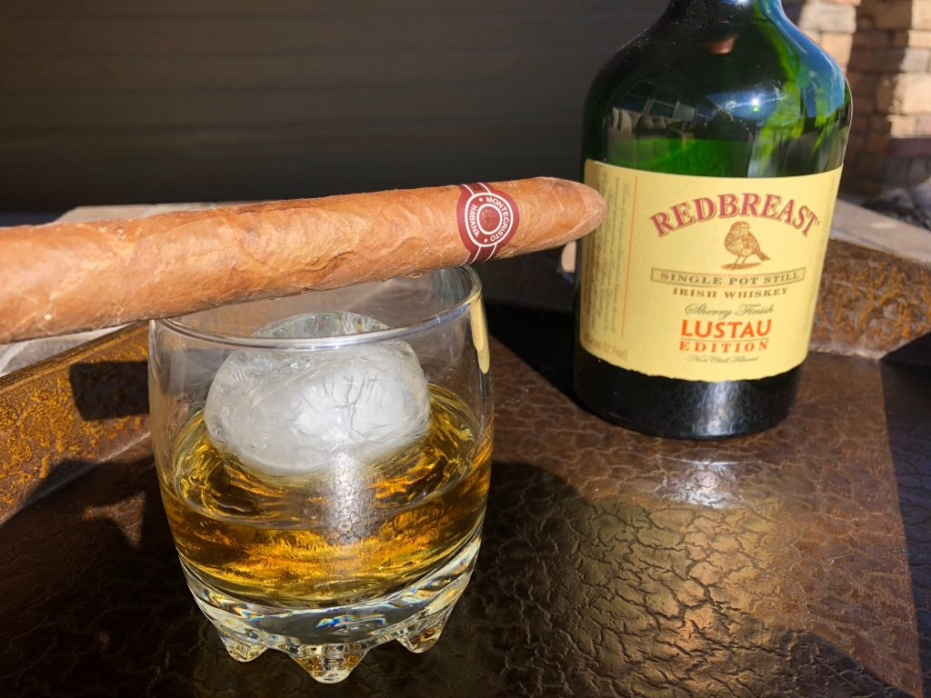 Redbreast Lustau Edition on the rocks